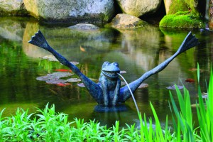 78010 Crazy Legs Frog Spitter